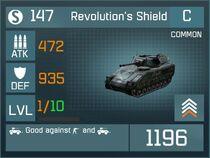 Revolutions shield common
