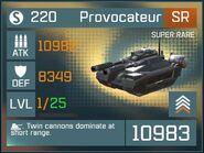 Provocateur SR Lv1 Front