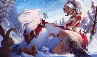 Nidalee SnowBunnySkin