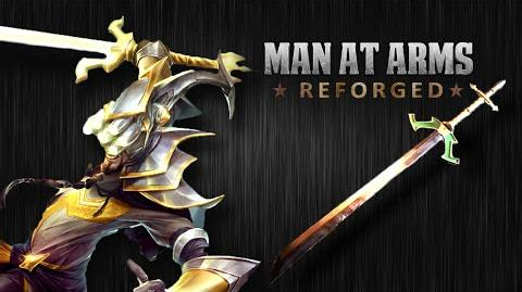 Master Yi's Ring Sword (League of Legends) - MAN AT ARMS REFORGED