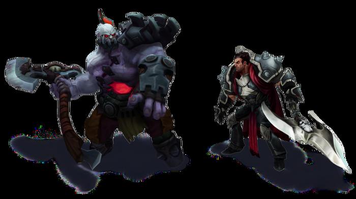 Sion vs Darius Render