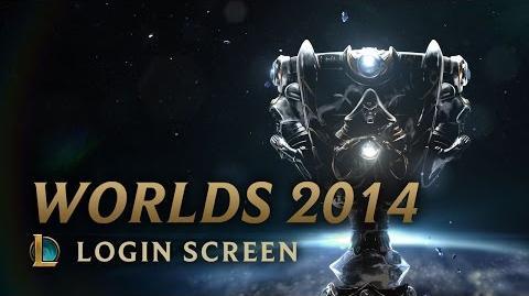 World Championship 2014 - Login Screen