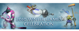 2010 Winter Games Celebration Banner