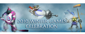 2010 Winter Games Celebration Banner