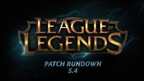 Patch Rundown 5.4