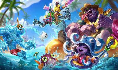 Lulu PoolPartySkin old