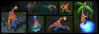 Lee Sin PoolParty Screenshots