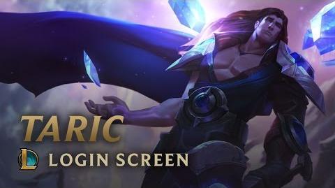 Taric, the Shield of Valoran - Login Screen