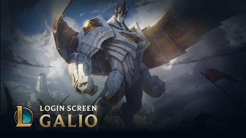 Galio, the Colossus - Login Screen