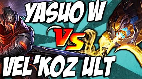 Cist1 Vel'Koz Ult vs Yasuo Wind Wall - by LoL Clash & Combo lolclash