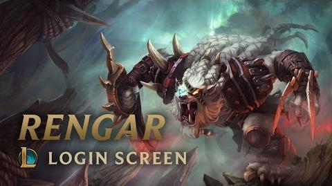 Rengar, the Pridestalker - Login Screen