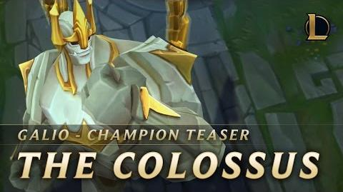 Galio The Colossus Champion Teaser – League of Legends