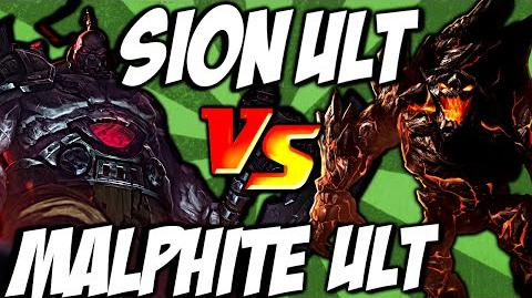 Cist1 Sion Ult vs Malphite Ult - Unstoppable Onslaught vs Unstoppable Force by LoL Clash & Combo lolclash