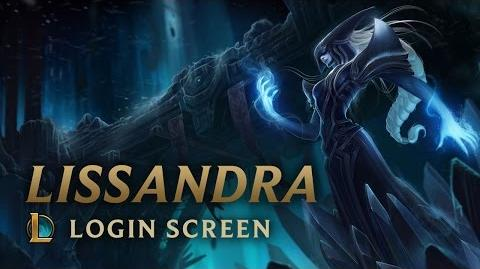 Lissandra, the Ice Witch - Login Screen