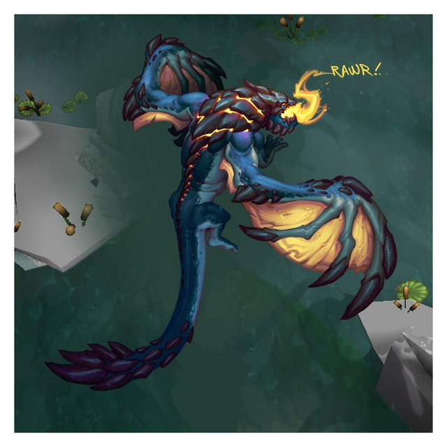 Summoner's Rift Update Creature Dragon Color