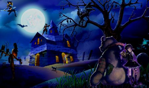 Sam 3010 HalloweenWallpaper