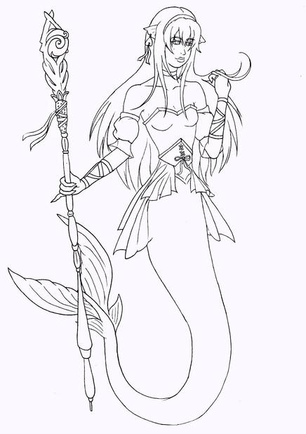 Nhan-Fiction Mokey Sister Drawing