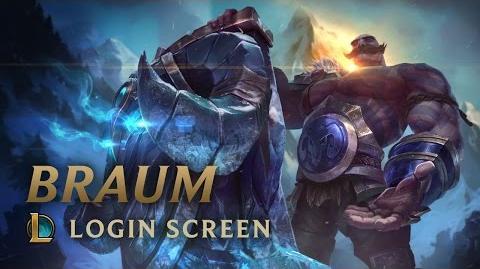 Braum, the Heart of the Freljord - Login Screen