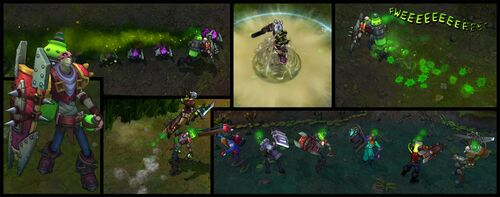 Singed Screenshots