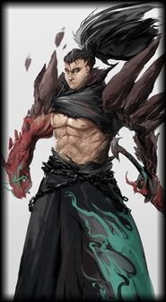 Emptylord Dragonblade Yasuo