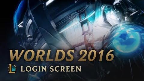 Worlds 2016 - Login Screen