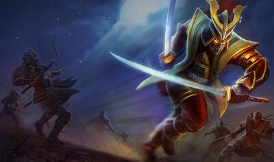 Shen WarlordSkin old