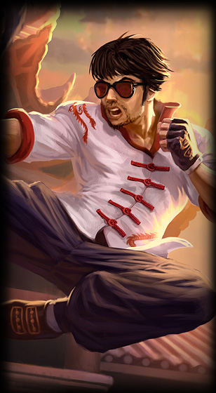 Lee Sin DragonFistLoading old