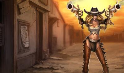 Miss Fortune CowgirlSkin Ch