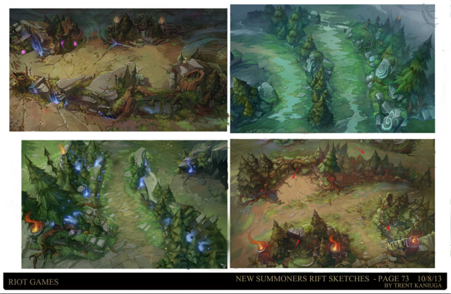 Summoner's Rift Update Theme Quadrants