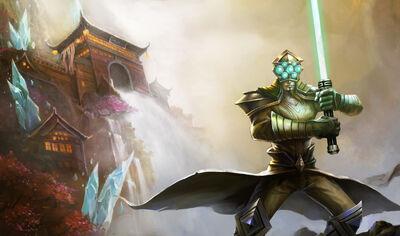 Master Yi ChosenSkin old2
