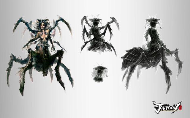 File:Emptylord Spider Queen by TheBastardSon.jpg