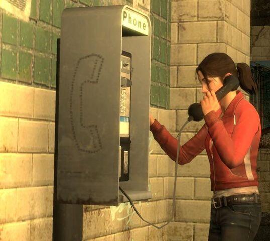 File:Zoey on phone.jpg