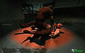 Left 4 dead hunter attack 02