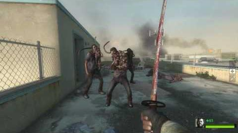 L4D2 Tutorial - Melee Weapons & Smokers