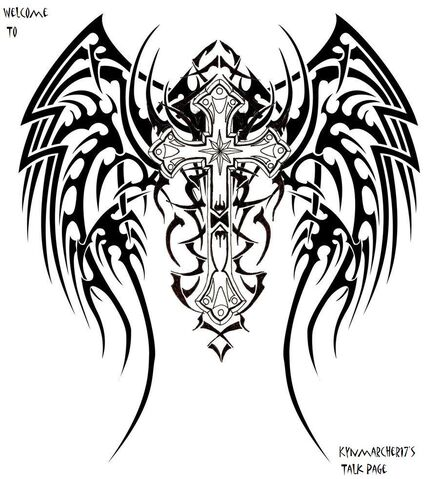 File:Tribal Wings Cross design by twzted.jpg
