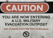 Military sign 12a