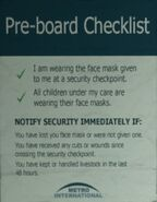 Airport warning sign 3