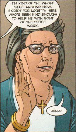 Loretta comic