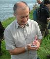 Tony Robinson Signing autographs
