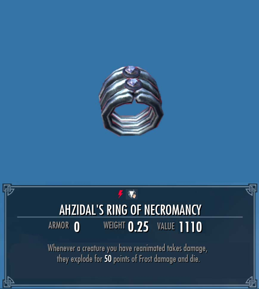 Ahzidals Ring