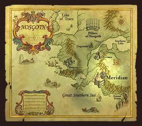Meridian Map