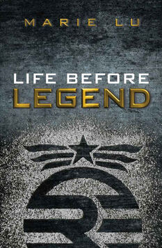 Life Before Legend-Book Cover