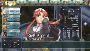 Ries argent 3rd status