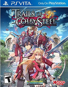 Trails of cold steel PSVITA cover