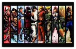 Street fighter characters-t2