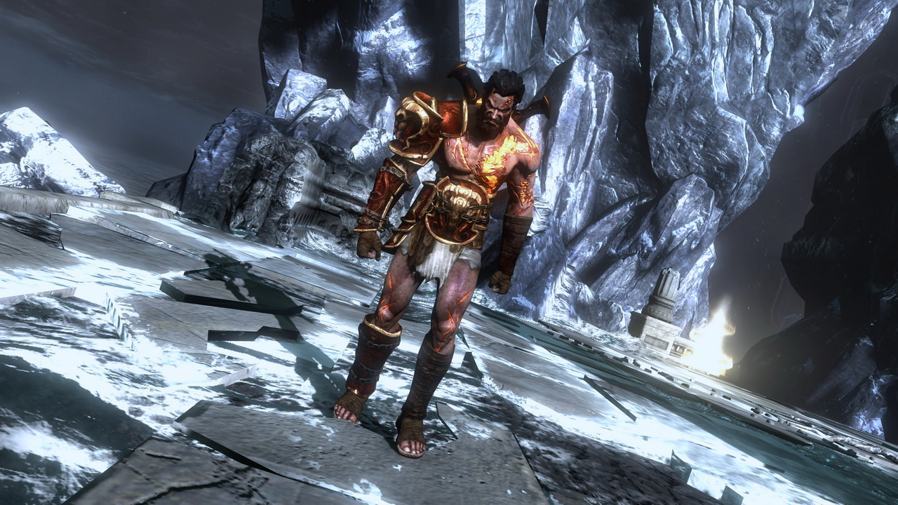 Kratos Brother Deimos   Deimos the younger brother of