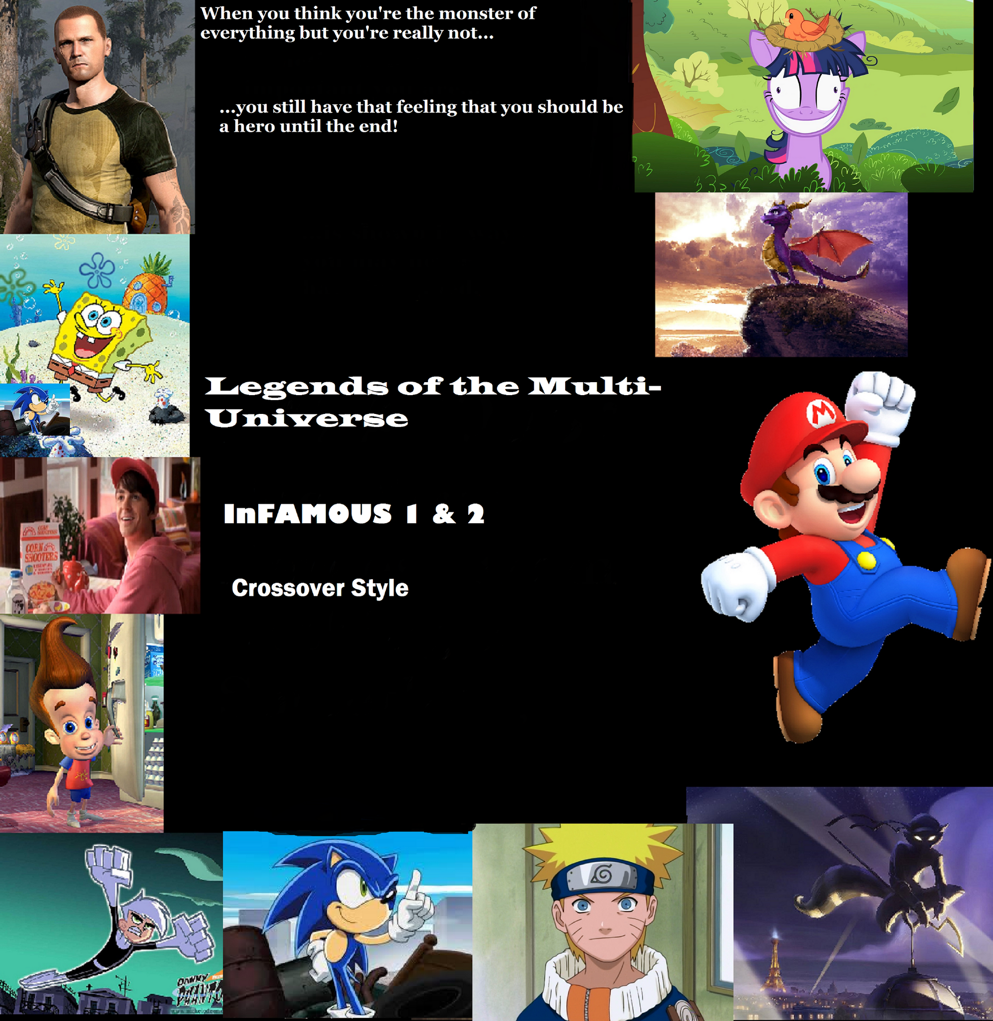 Legends Of The Multi Universe Wiki: InFAMOUS 1 & 2 (Crossover Style)