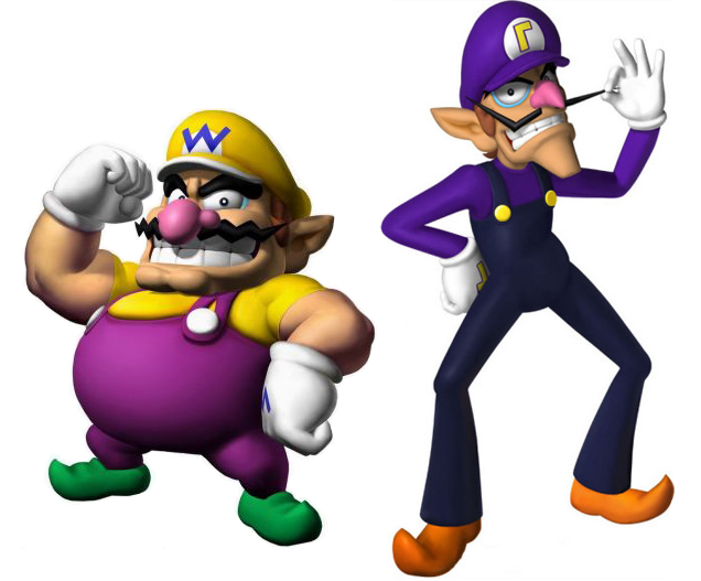 Image result for Wario and Waluigi