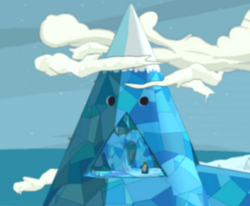 LEGO Dimensions Adventure Time Location Ice King's Castle