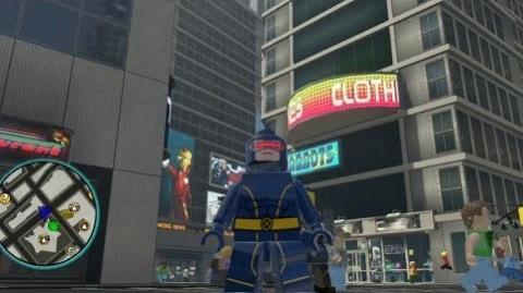 video lego marvel super heroes unlocking cyclops